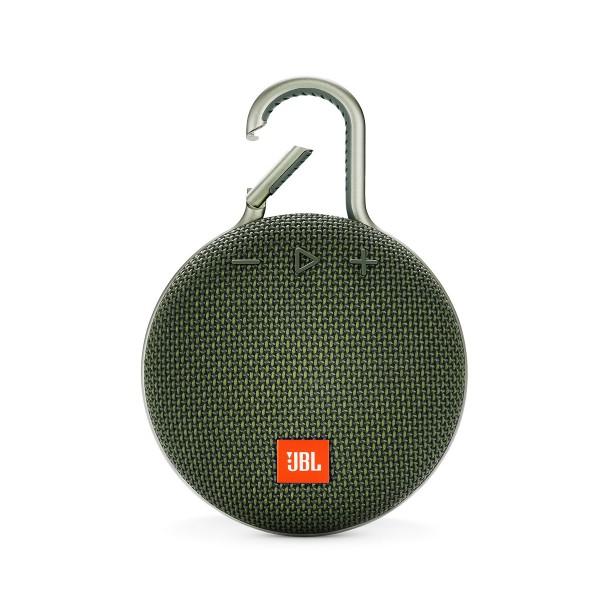 Jbl clip 3 verde altavoz portátil 3w rms bluetooth mosquetón integrado impermeable ipx7
