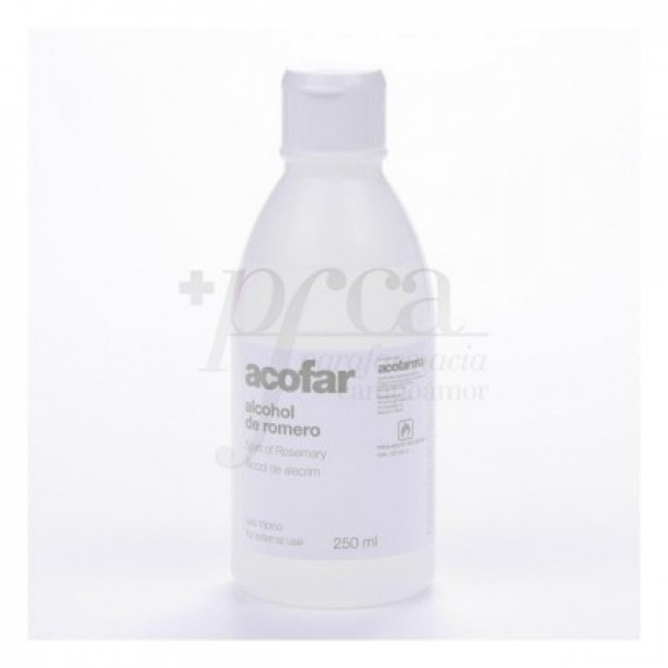 ALCOHOL DE ROMERO ACOFAR 250 ML