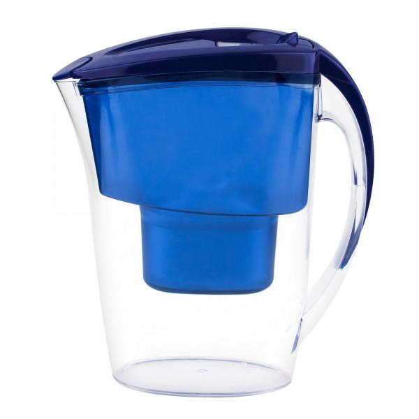 Supréme Jarra agua filtrada azul compatible jarra Brita 2,4 litros