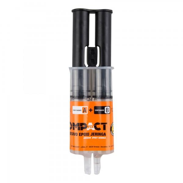 Adhesivo epoxi compact 12ml+12ml.jeringa