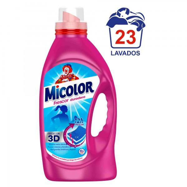 Detergente Líquido Micolor Frescor Duradero 23 Lavados