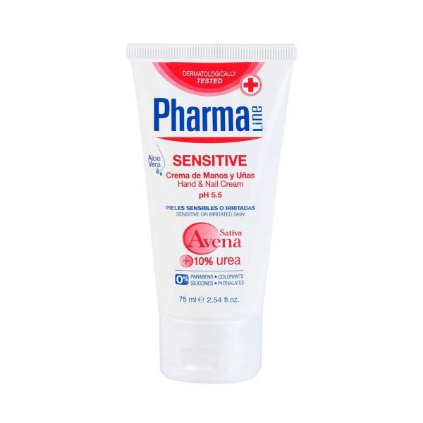 Pharmaline sensitive crema de manos 75ml