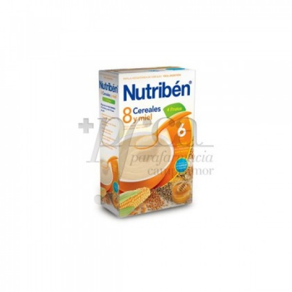 NUTRIBEN 8 CEREALES Y MIEL 4 FRUTAS 600 G