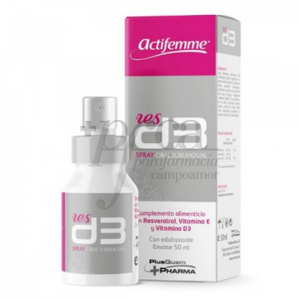 ACTIFEMME RESD3 SPRAY SUBLINGUAL 50ML