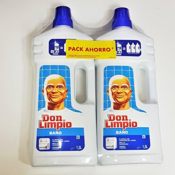 Don limpio baño 1.5 l, 2 x 1 - tucompraenoferta.com