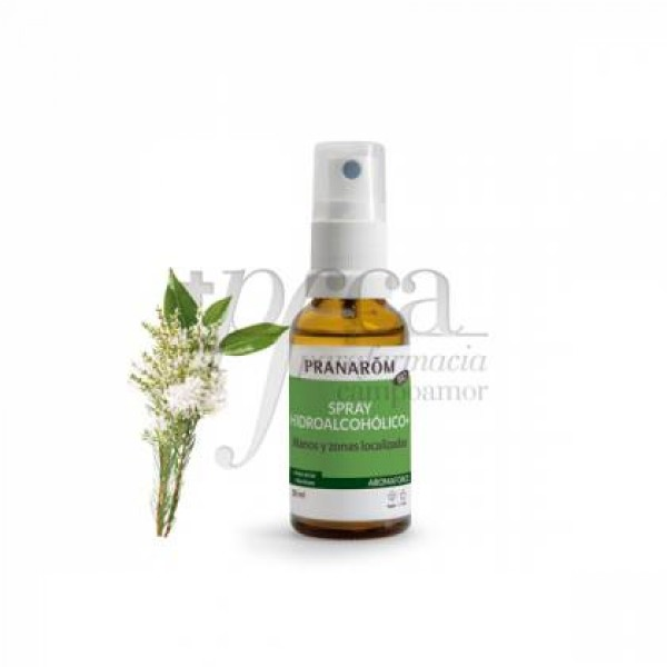 SPRAY HIDROALCOHOLICO 30 ML PRANAROM