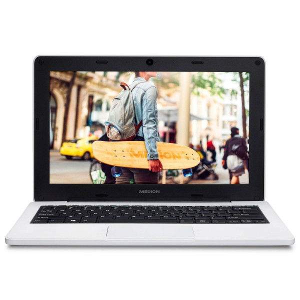 Medion e11201 education blanco portátil 11.6'' hd cel-n3450 64gb emmc 4gb ram windows 10 pro education