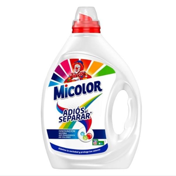 Micolor detergente Adiós al Separar 33 dosis