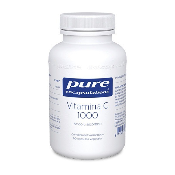 PURE ENCAPSULATIONS VITAMINA C 1000 90 CAPS