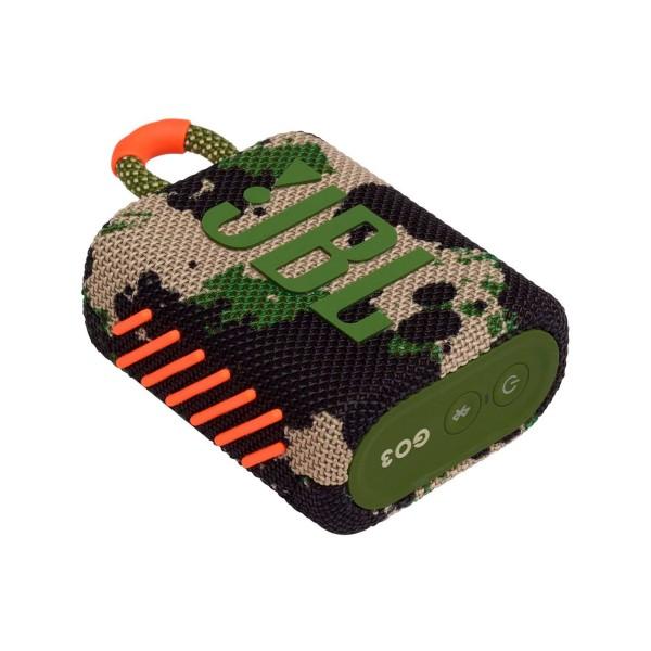 Jbl go3 camuflaje altavoz inalámbrico portátil 4.2w bluetooth impermeable batería litio