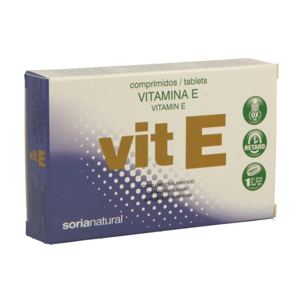 VITAMINA E 12MG RETARD 48 COMPS