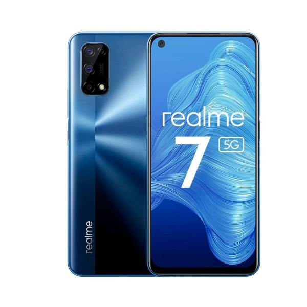 Realme 7 5g color azul dual sim 6.5'' ips 90hz fhd+ octacore 128gb 8gb ram quadcam 48mp selfies 16mp