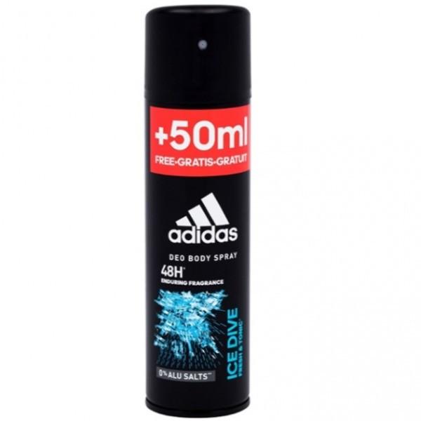 Adidas Ice Dive 48h desodorante hombre Body Spray 200ml