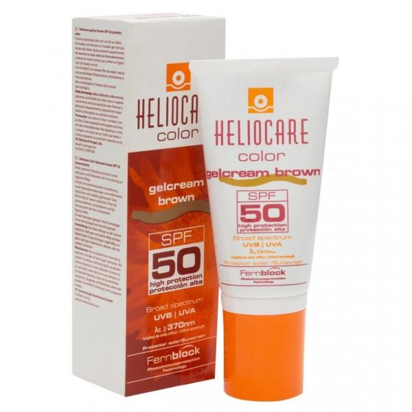 HELIOCARE COLOR PROTECTOR SOLAR SPF50 GEL CREMA BROWN 50 ML