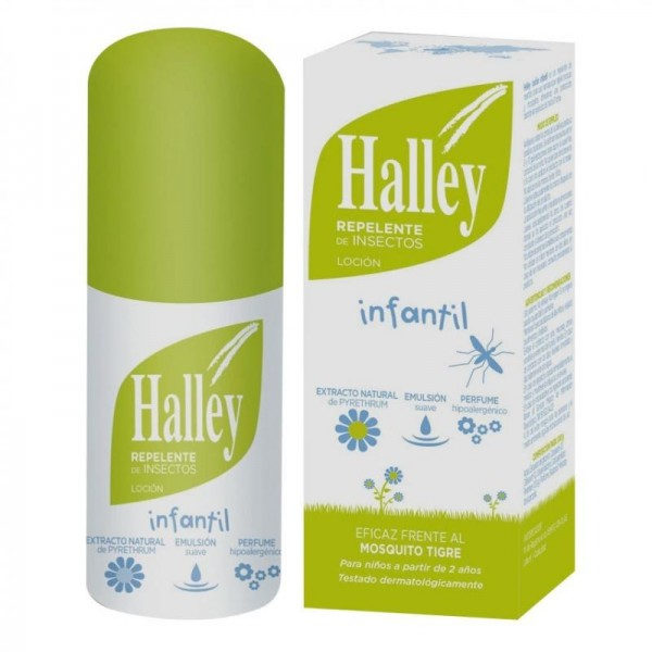 HALLEY INFANTIL LOCION REPELENTE 2A+ 100ML