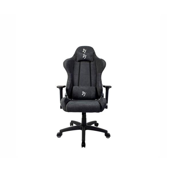 Arozzi torretta soft fabric silla gaming gris oscuro/función basculante