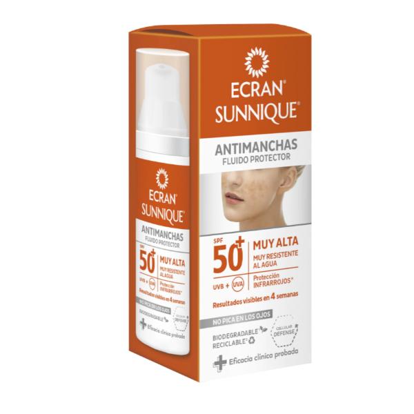 Ecran Sunnique fluido Antimanchas SPF50+ 50 ml